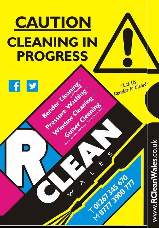 rclean wales advert 2017 crop homewindow cleaners